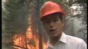 Garnet Forest Fire (Kent Molgat Reporting)