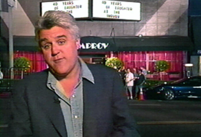 JAY LENO TODAY OUTSIDE