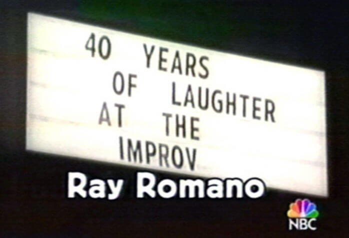 MARQUEE W-RAY ROMANO ON SCREEN