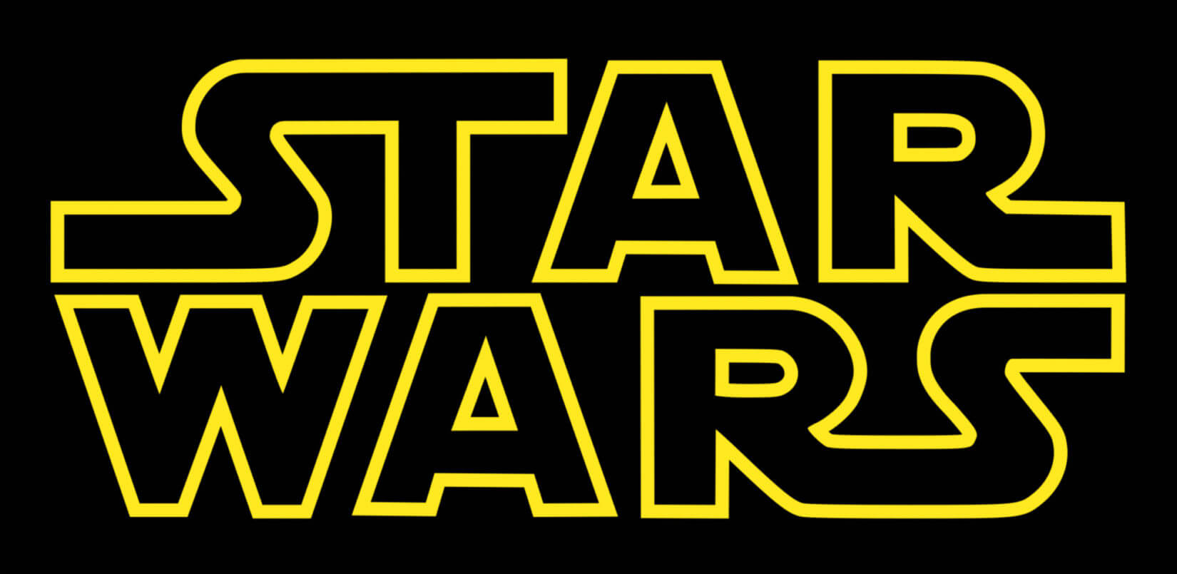 STAR WARS LOGO YELLOW ON BLACK-FILTER