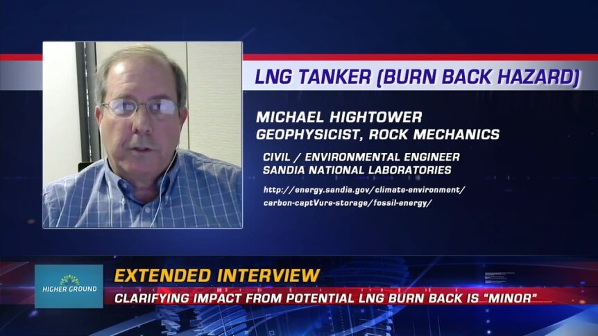 "HG Special | LNG Tanker Burn Back Hazard is ""Minor"" (extended interview)"